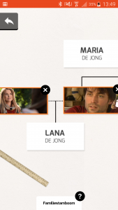 Familie stamboom